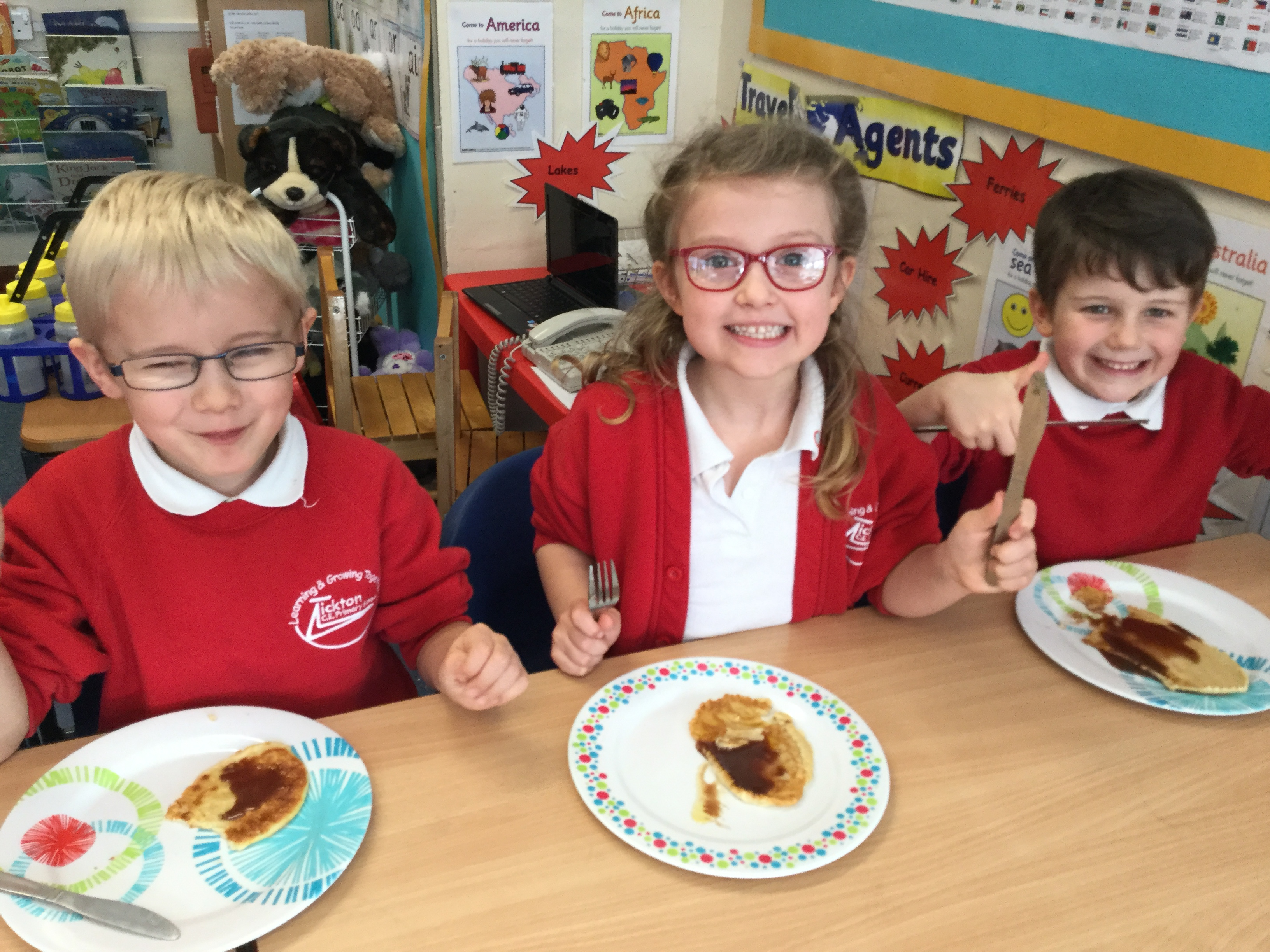 Year 1 Pancake Fun!